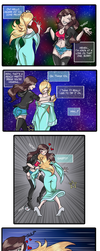 :Commission: Janice Swallows a Star -(VORE COMIC)- by Kimeria87