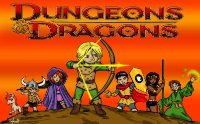 Dungeons and Dragons by Painsmash