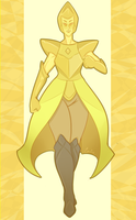 Shine Bright like a Yellow Diamond by Cyboarnetic