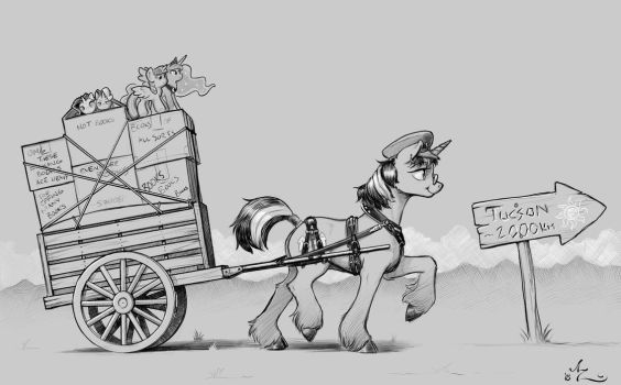 On The Move by Amarynceus
