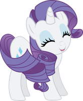 Smiling Rarity by Stayeend