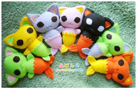 Mercat Plushies by pookat