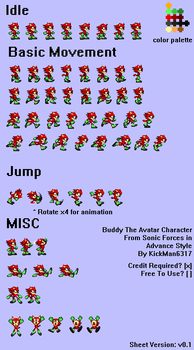 Buddy in Advance Style Sheet v0.1 by KickAzzGaming