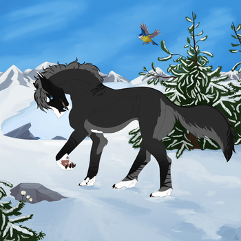Snowtrot by Morisith
