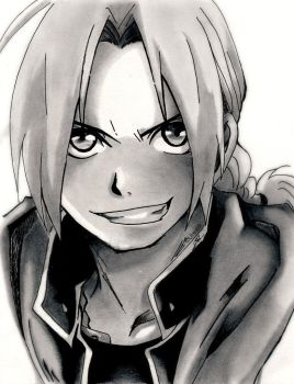 Edward Elric by Urei69