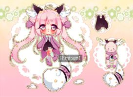 [Adoptable]: DREAMIMY  ~10 CLOSED by Hiratsumi