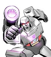 Megatron Forever G1 by Stan Chou by ryuzo