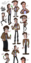 Style challenge  Eleventh Doctor by Yohiri