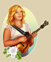 The Queen of Bluegrass by Cathasach