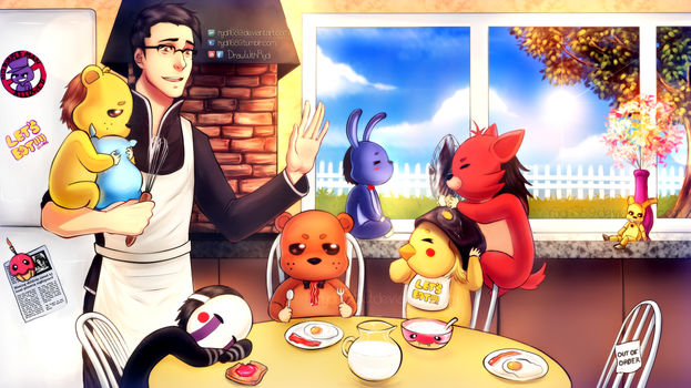 Markiplier is the father of Five Nights at Freddys by rydi1689