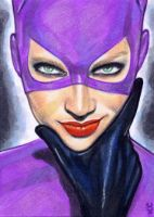 Catwoman Sketch Card 7 by veripwolf