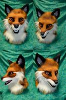 Fox Partial Head by temperance