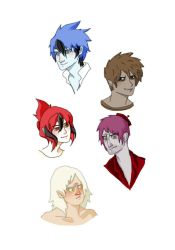 humanized regular show by bubleblue