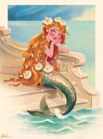 Classic Fairy Tale Mermaid by DylanBonner