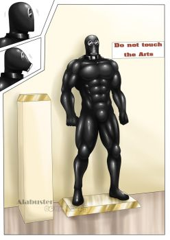 Rubber Statue : 2/2 by St-Alpha
