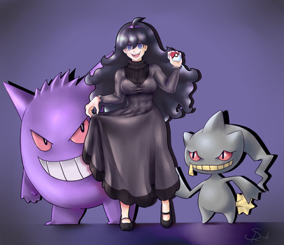 Hex Maniac Commission by Roxaile