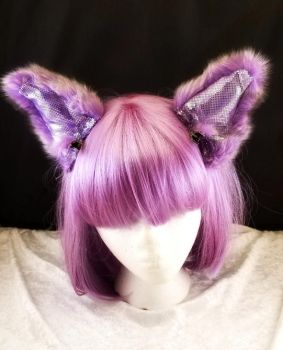 I'm all ears!  Lavender sparkle by cupcakedoll