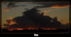 Fire over Auckland by dkraner