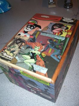 Women of Arkham Keepsake Box 2 by UnderdogGirl