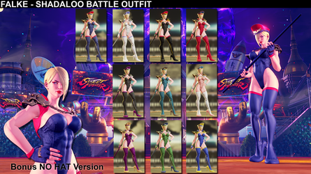 Falke - Shadaloo Battle Outfit by addysun