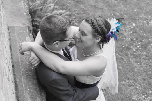 Wedding in Blue by Angel-Platypus-Photo