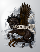 Rebellious - Pegasus by ThunderboltFire