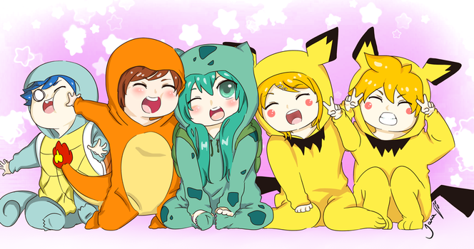 pokemon_vocaloid by TiaAnthy