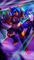 Grooving to the Glow by Temrin