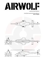 Airwolf Plans by Artdigital