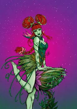 Poison Ivy by channandeller