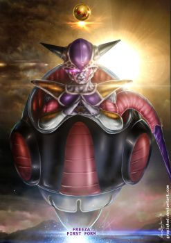 Freeza First Form by Grapiqkad