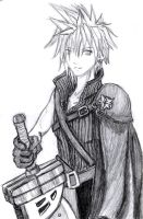 Cloud Strife by XtheSilverShiningX