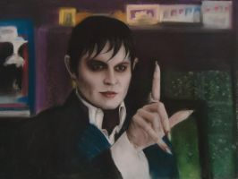 Dark Shadows Soft Pastel by blackblacksea