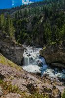 Firehole falls by Mana-C-E