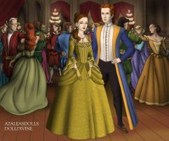 Belle and Adam Tudor Style by TFfan234