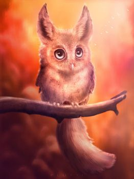 Young Griffon by Flutti