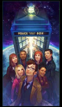 TEAM TARDIS. by questionstar