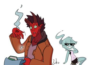Monster Prom [a crazy twist on dating sims!] by HairyFood