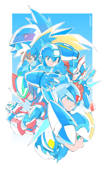 Rockman Legacy - 1000th Deviation by Tomycase