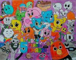 The Amazing World Of Gumball: Year 5 by PilloTheStar