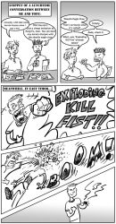 EXPLODING KILL FIST by Mister-Cote