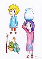 Wind Waker pics by Kuryel