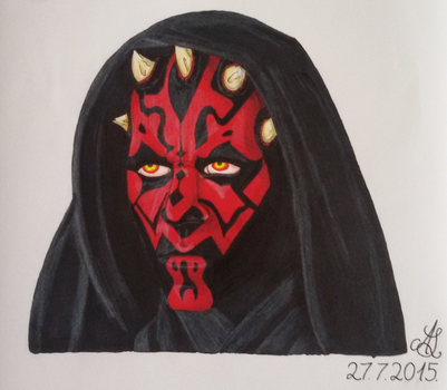 Darth Maul by DarkEpochTriton