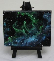 Mini Nebula #1 by crazycolleeny