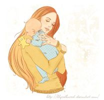 Mother's Lullaby by LilyRedHaired