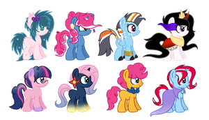 COM - Shipping Foals [CLOSED] by Pikadopts