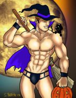 Gogoboy Witch by TumbledHeroes