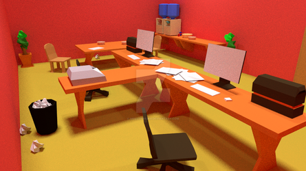 Red Office 2 by neilcorre2k6