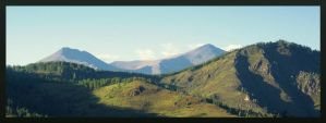 Mountain Landscape by MikeMS