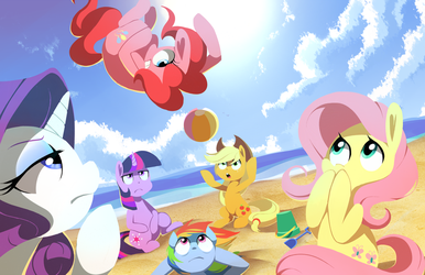 Summer Slam: Beach Edition by Karzahnii